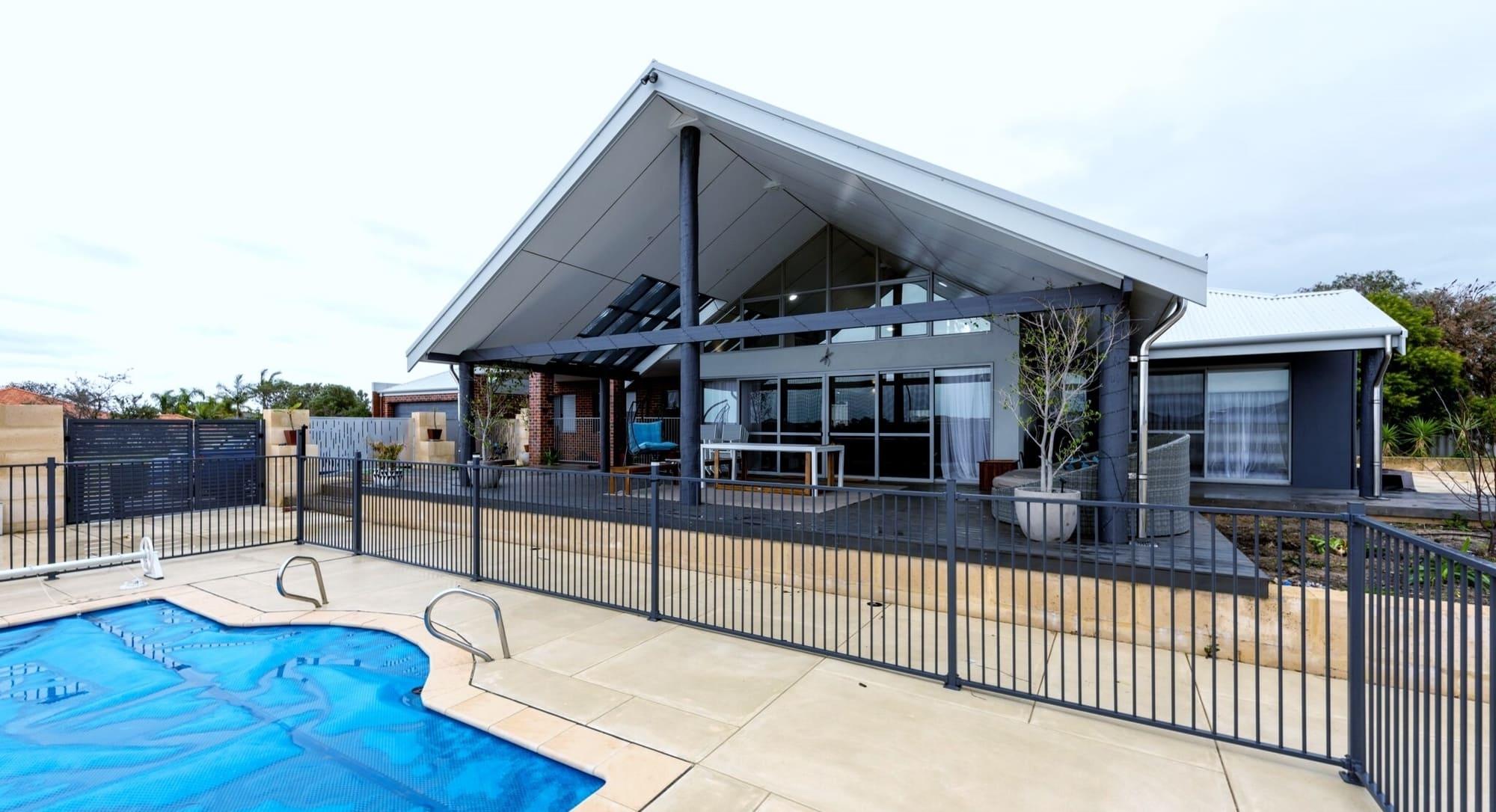 Alfresco Area in a New Home Australind built by Bunbury Builders - Coastline Homes