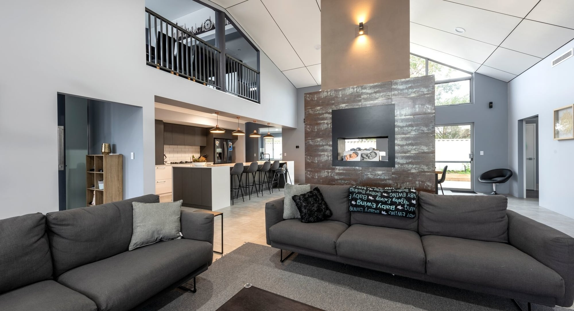 Living Area in a New Home Australind built by Bunbury Builders - Coastline Homes