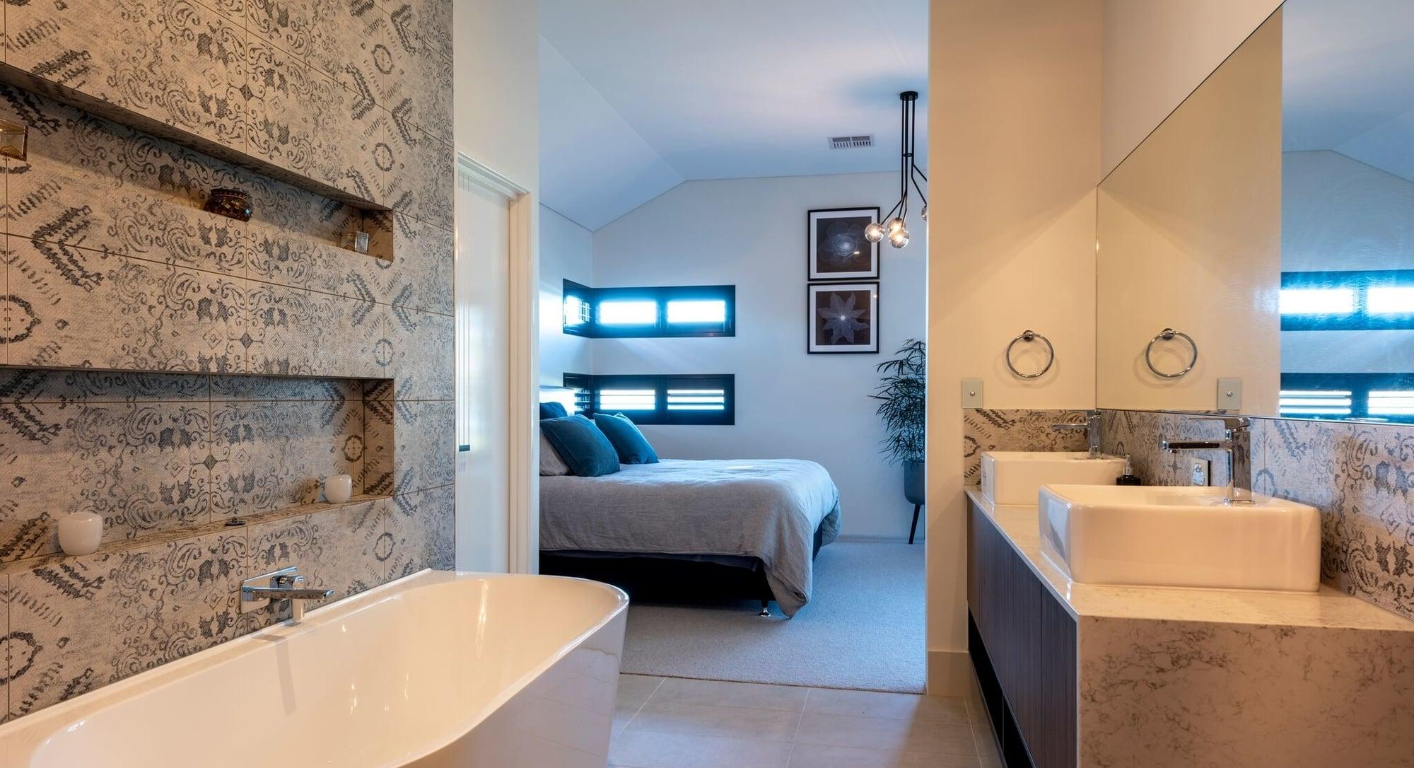 Ensuite in a New Home Australind built by Bunbury Builders - Coastline Homes